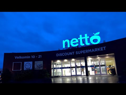 Groceries Prices in Netto Supermarket Iceland