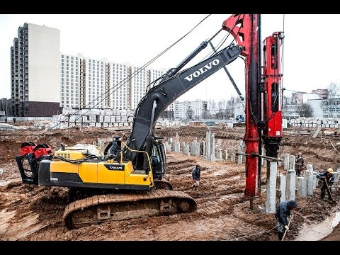 Опыт эксплуатации экскаватора Volvo ЕС480D при строительстве в Московской области