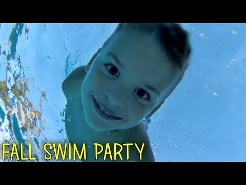 7 Year Old Braves the Deep End -  Family Fun Pack
