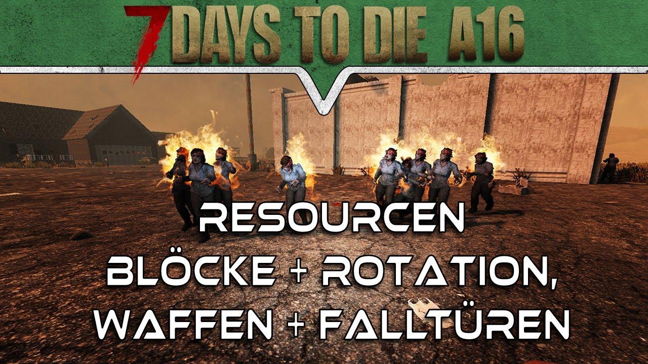 7 Days To Die Blöcke Entfernen