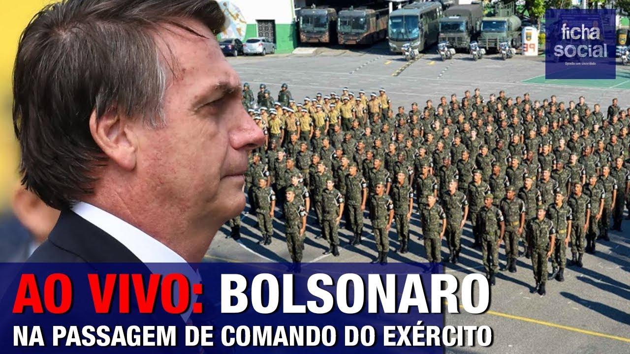 Resultado de imagem para Jair Bolsonaro na passagem de comando do General Villas Bôas - Exército Brasileiro