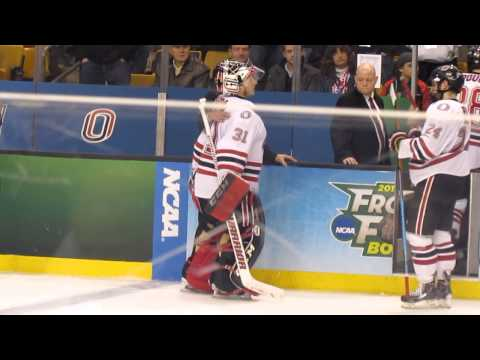 Ryan Massa Leaves the Ice - 2015 Frozen Four