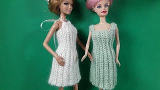 Новогоднее платье для Барби. Мастер-класс.