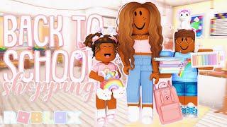 Taking The Kids Back To School Shopping *MEETING TEACHERS?* Roblox Bloxburg Roleplay