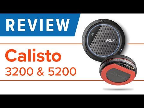 Plantronics Calisto 3200 and 5200 Speakerphone Review
