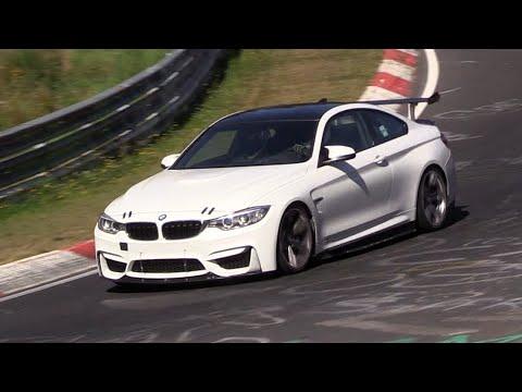 2018 Bmw M4 Gt4 Testing On The Nurburgring Youtube