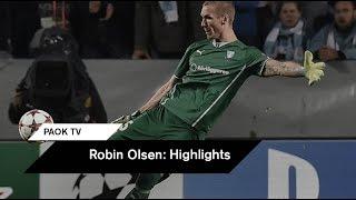 Τα Highlights της καριέρας του Ρόμπιν Όλσεν - PAOK TV