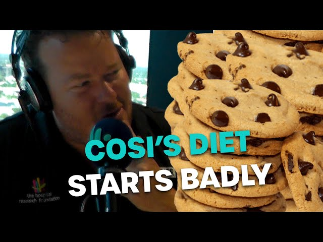 Cosi's Diet Starts Badly | Bec Cosi & Lehmo