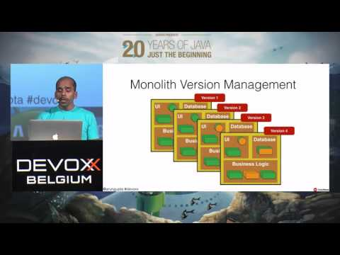 Refactor your Java EE application using Microservices and Containers by Arun Gupta