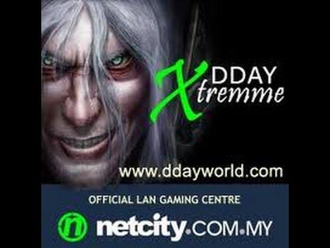 Играем в DDay extreme WarCraft 3 коридоры