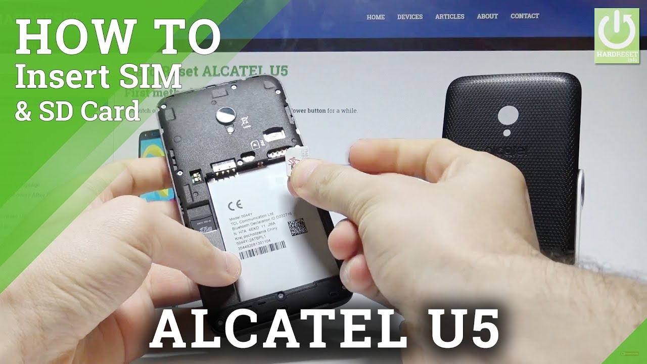 Alcatel U5 SIM Videos - Waoweo