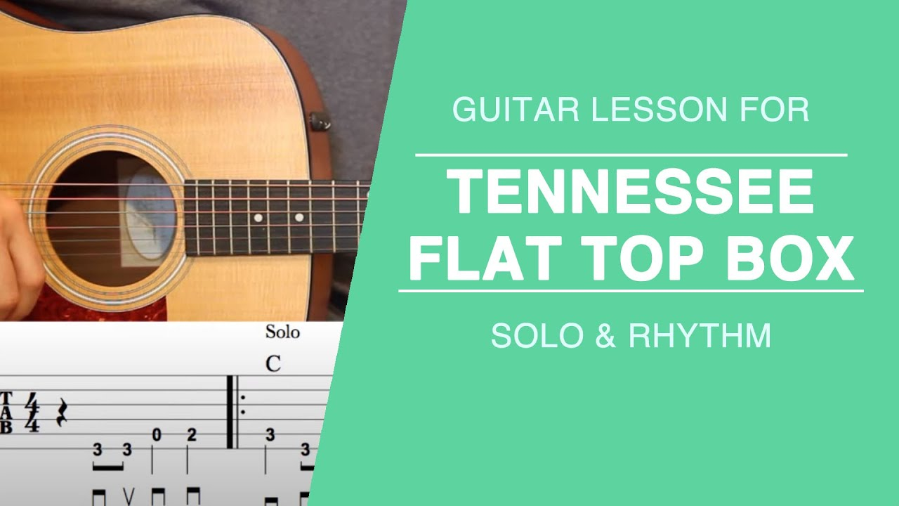Tennessee flat top box guitar lesson johnny cash youtube hexwebz Gallery