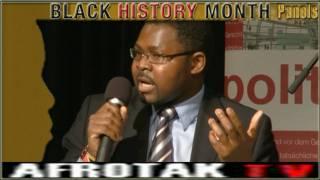 AFRIKA Black History Month DEUTSCHLAND Entwicklungszusammenarbeit Africa Germany Berlin Afro Germans