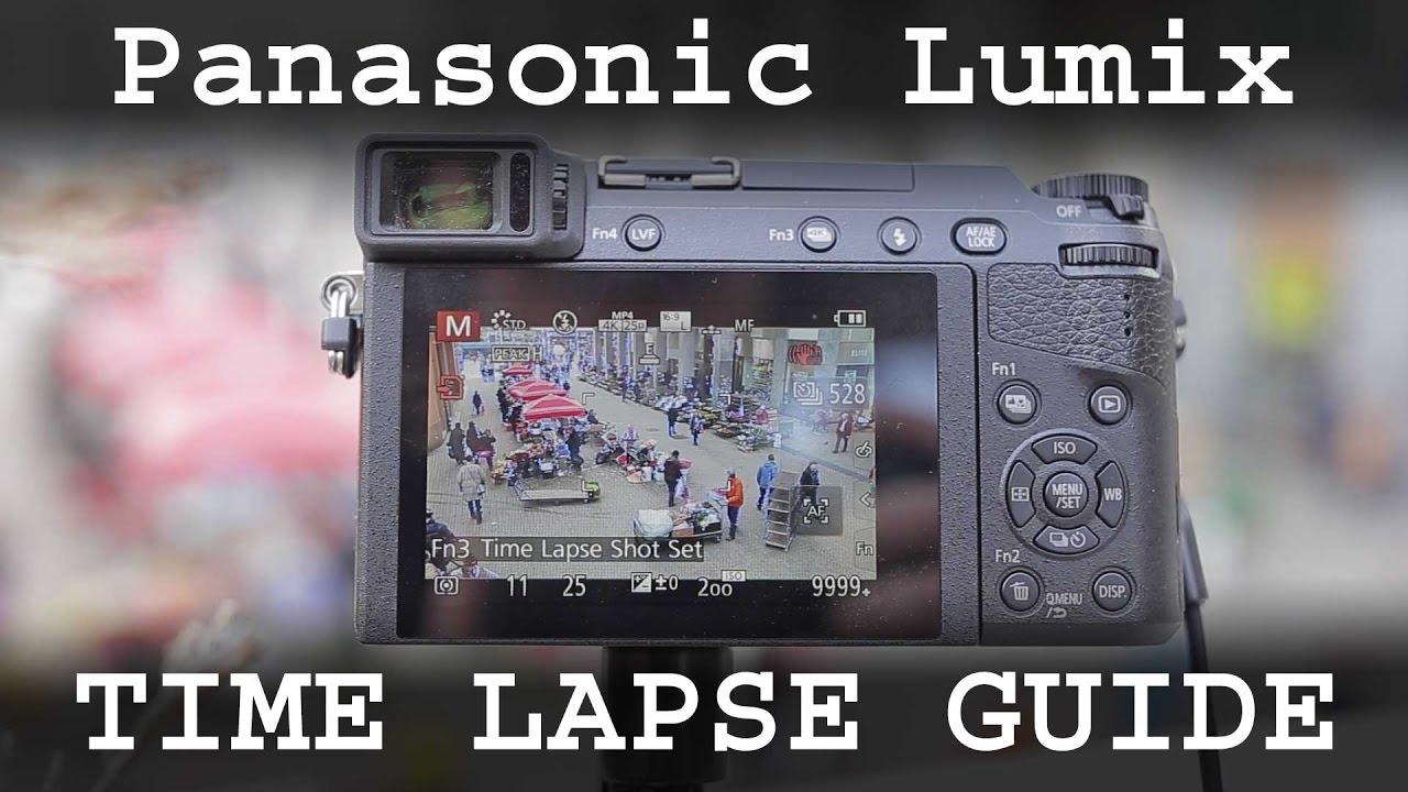 Time lapse tutorial for Panasonic Lumix cameras