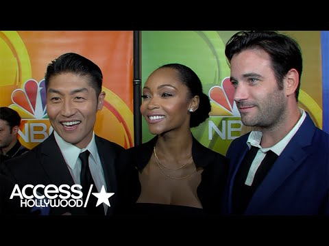 Brian Tee, Yaya DaCosta & Colin Donnell P 'Chicago Med' Season 2  Access Hollywood