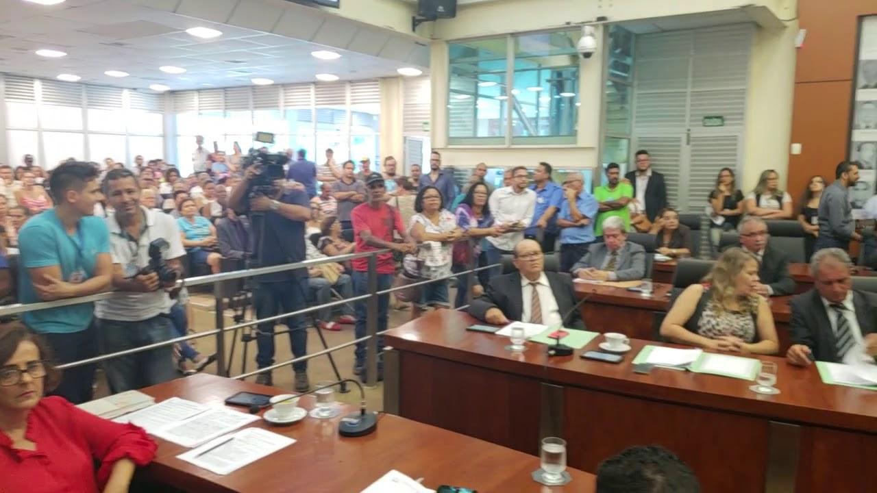 Vereador Gustavo Nunes faz primeiro discurso na tribuna