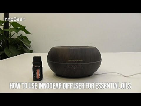 How to Use InnoGear Diffuser for Essential Oils - YouTube