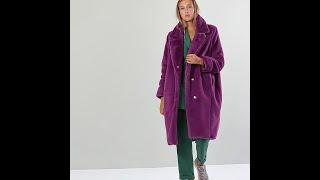 шуба Barbara Alvisi 23 purple (размер M)