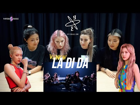 [MV REACTION] LA DI DA - EVERGLOW (에버글로우) | P4pero Dance