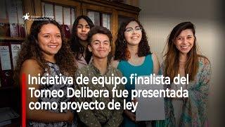 Torneo Delibera: iniciativa de equipo finalista es presentada como proyecto de ley