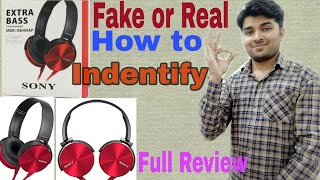 Sony Extra Bass Headphone !! MDR XB450 !! Best head phone Unboxing and Review