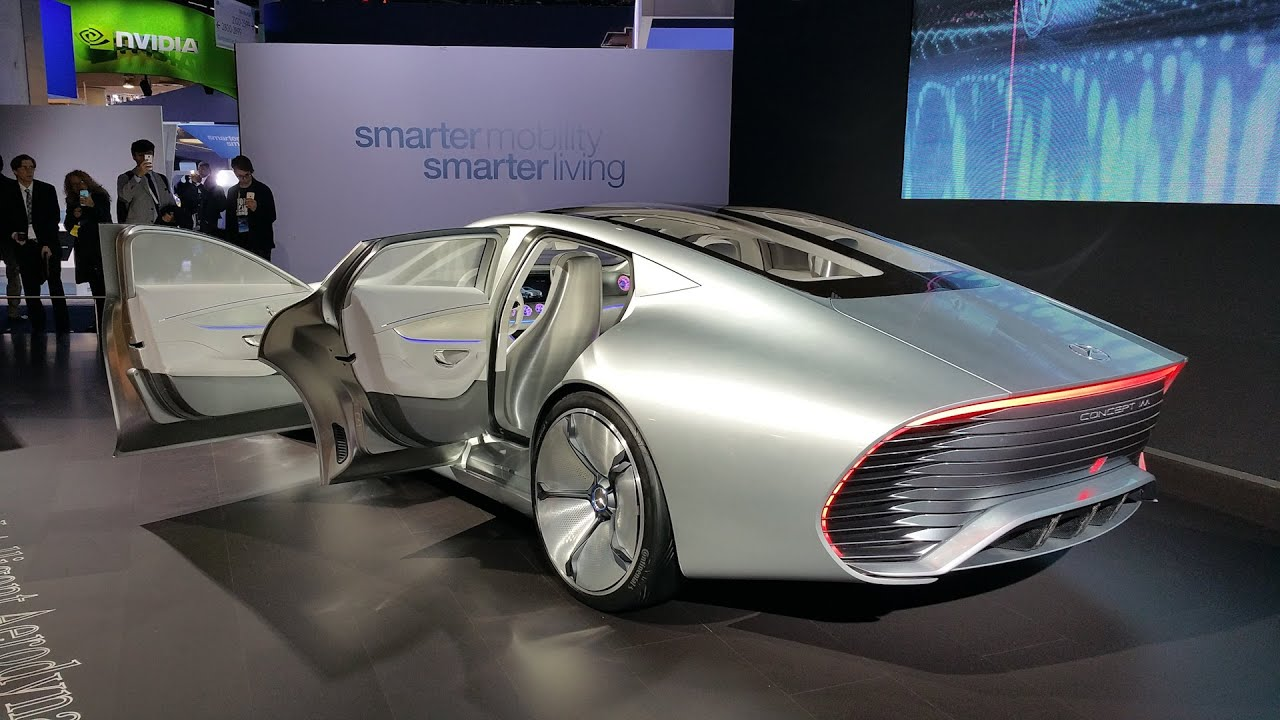 Futuristic High Tech Cars Of Ces 2016 Effspot Youtube