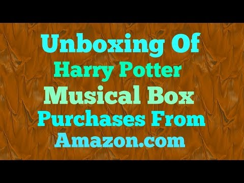 Unboxing| harry potter tiny music box India # techno guru.