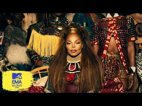 Janet Jackson Global Icon | MTV EMAs 2018 Mp3