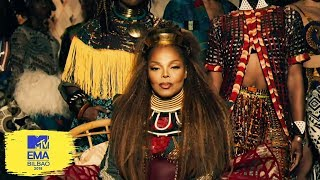 Janet Jackson Global Icon | MTV EMAs 2018