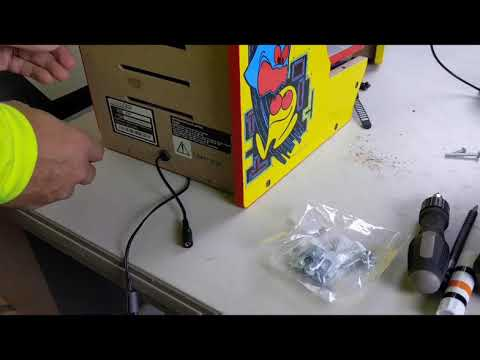 Arcade1up Pac-Man Countercade Mod from Detroit Love