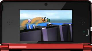 Nintendo 3DS Pokemon Rumble Blast 3D Trailer de TV
