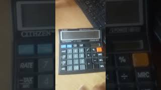 Calculators trick..