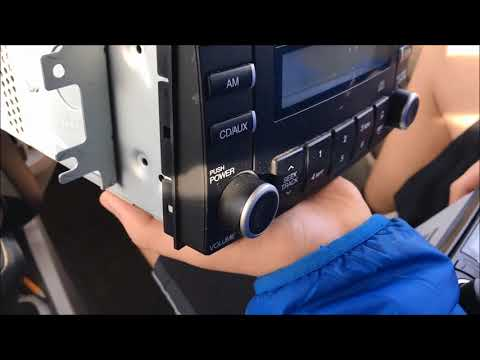 kia spectra 2007 car stereo swap - youtube  youtube