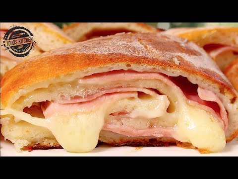 Baked Ham And Cheese Rollups - Recipe