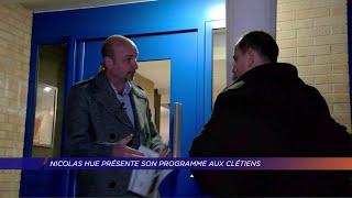 Yvelines | Nicolas Hue présente son programme aux clétiens