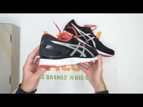 asics-gel-zaraca-5---black-silver---walktall-|-unboxing-|-hands-on