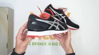 ASICS Gel-Zaraca 5 - Black Silver - Walktall | Unboxing | Hands on