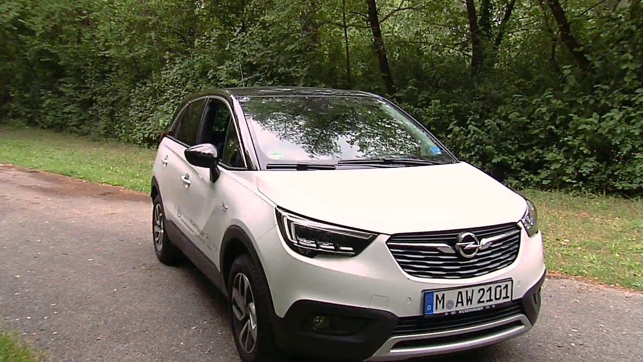 autotest opel crossland x innovation youtube. Black Bedroom Furniture Sets. Home Design Ideas