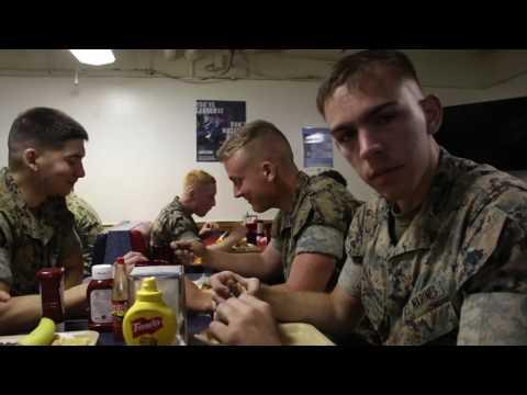 Marines and sailors prepare to make waves at Sail Boston 2017