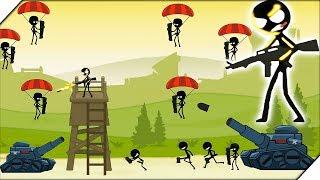 СТИКМЕНЫ АТАКУЮТ МЕНЯ.Битва стикменов - Игра Stickman Fight Обзор и прохождение. Игры на андроид