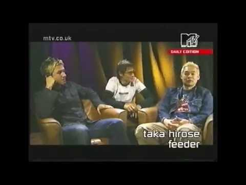 Feeder Interview on MTV Daily Edition (2001)