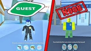 GUEST VS NOOB NO ROBLOX
