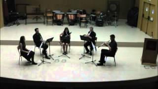 20140520 - Quinteto de viento -  Quinteto nº1 - Larghetto cantábile de Giuseppe María Cambini