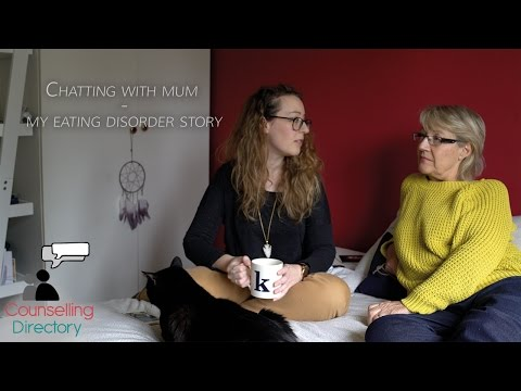 My eating disorder story - Chatting to mum