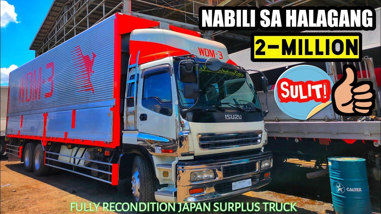 ISUZU GIGAMAX 10W 6WF1 WINGVAN BODY -  FULLY RECONDITION JAPAN SURPLUS TRUCK