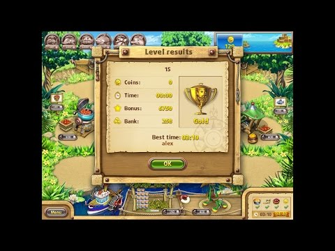 Farm Frenzy Gone Fishing Only GOLD (level 15) Веселая ферма Рыбный день (Уровень 15) Золото