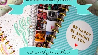 How I use multiple planners | Happy Planner and Erin Condren | Plan with me Alice in Wonderland