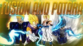 本能 Instinct Online | Fusion And Potara Transformation | 本能 Instinct Online Roblox