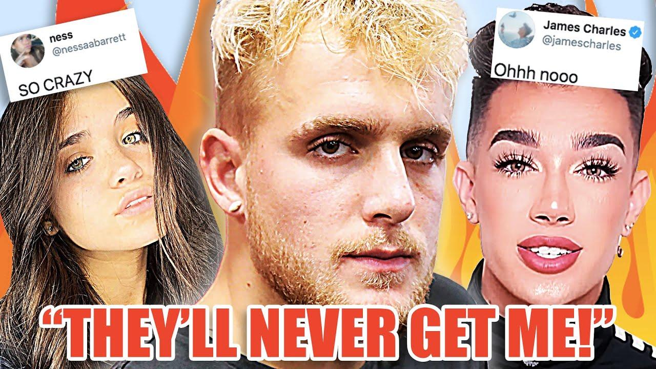 Jake Paul FBI RAID, Nessa Barrett DRAGGED For FART, James Charles and Manny MUA SHADE Alicia Keys