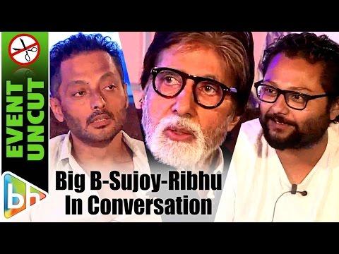 Amitabh Bachchan | Vishal Dadlani | Sujoy Ghosh | Ribhu Dasgupta |TE3N | Must Watch Conversation